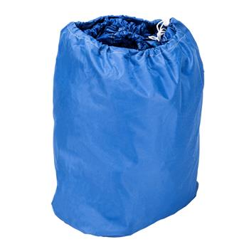 17-20ft 600D Oxford Fabric High Quality Waterproof Boat Cover with Storage Bag Blue