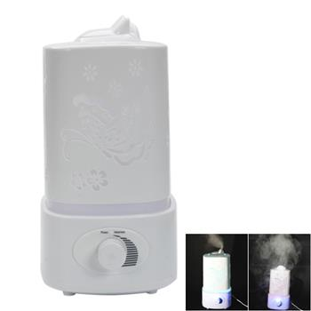 Supersonic Wave Mini Night Light Humidifier Fragrance Diffuser White