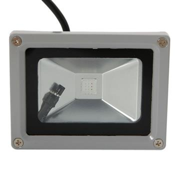 10W  AC90-260V  IP65 LED户外强光 RGB投光灯