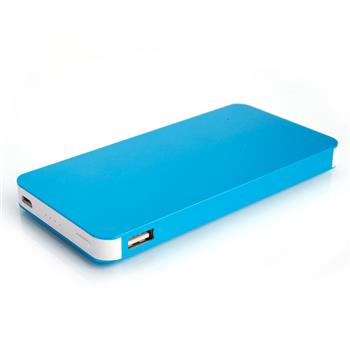 12000mAh Metal Shell Power Bank Blue