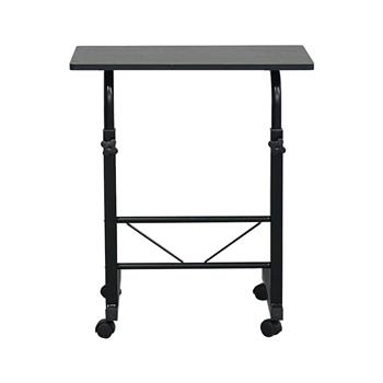 Removable E1 15MM Chipboard & Steel Side Table Black S