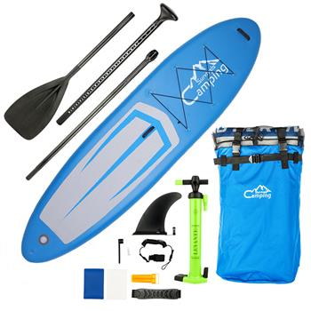 KS-SP1009 11' Adult Inflatable SUP Stand Up Paddle Board Blue & Gray & Black