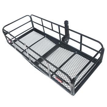 "60"" Portable Folding Cargo Carrier Black"