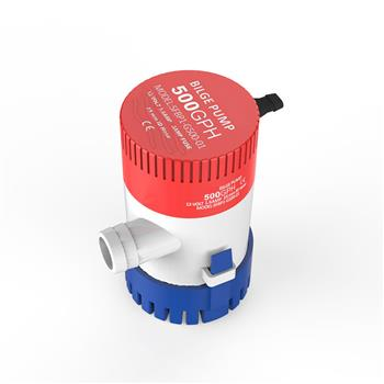 Seaflo 2.0A 500GPH Bilge Pump Water Pump Red