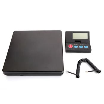 [US-W]SF-890 50KG/1g Portable Plastic Electronic Scale Black