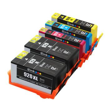 5pcs 920XL Ink Cartridge 2BL/1C/1M/1Y for HP