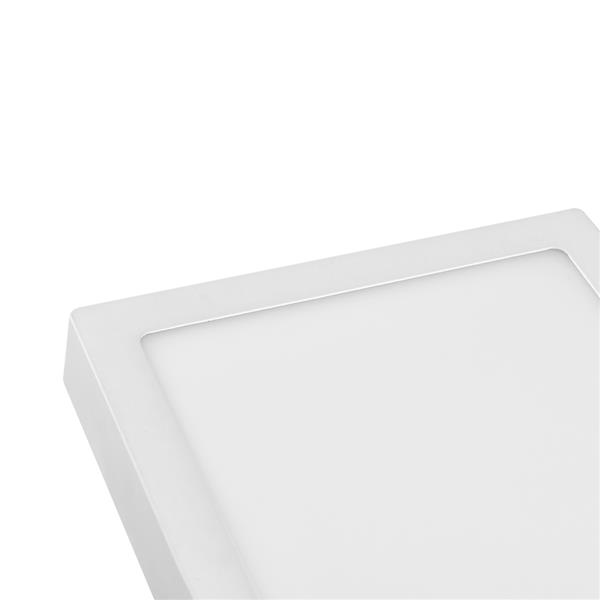 24W Square Super Bright LED Flush Mounted Ceiling Light Fixtures,Surface Mounted Ceiling Light for Bathroom,Kitchen,Balcony,Garage,Dining Room,Non-Dimmable