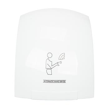 Portable Waterproof Automatic Hand Dryer White