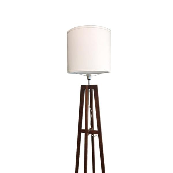 Alightup Living Room Bedroom Study Concise Modern Vertical Quadrupod Floor Lamp US Plug Rufous