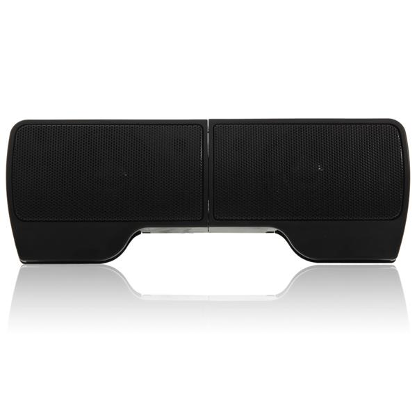 2pcs Wall-mounted Laptop External High-grade USB Speakers Dynamic Audio Compact