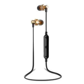 A990BL High-Fidelity Wireless Smart Sports Stereo Earphone Golden