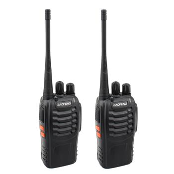 BF-888S 2800mAh Ultra-long Standby Walkie-talkie EU Standard Black