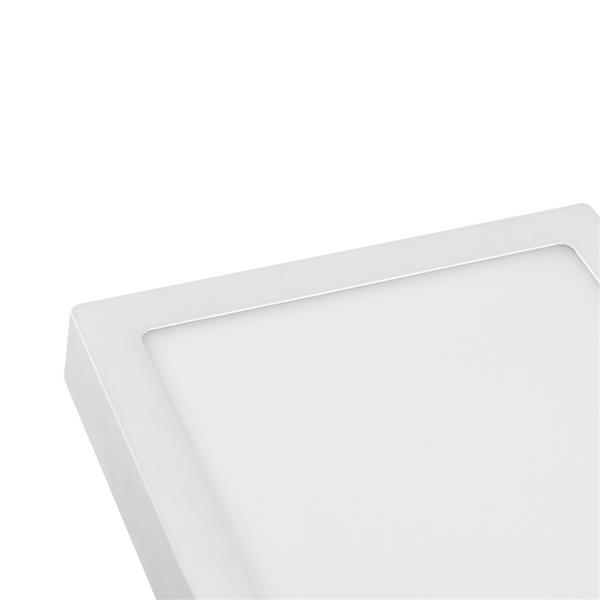 18W Square Super Bright LED Flush Mounted Ceiling Light Fixtures,Surface Mounted Ceiling Light for Bathroom,Kitchen,Balcony,Garage,Dining Room,Non-Dimmable