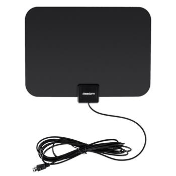 Leadzm TA-105 Indoor Digital TV HDTV Antenna Amplifier UHF/VHF/1080p 4K Black