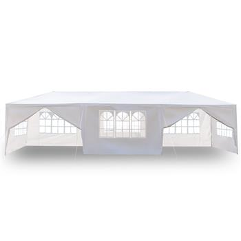 3 x 9m Eight Sides Two Doors Waterproof Tent with Spiral Tubes