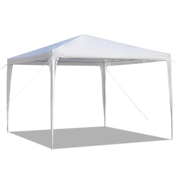 Brand New Best 3 x 3m White Outdoor Waterproof Tent with Spiral Tubes Canopy Party Wedding Tent