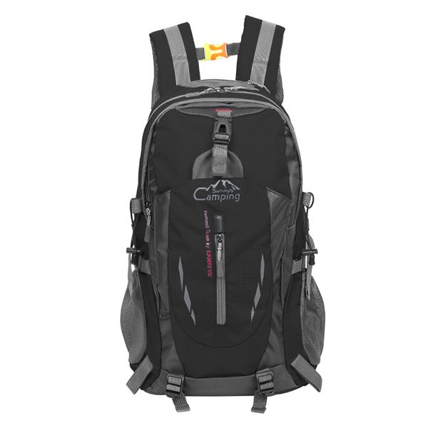 Free Knight 8607 35L Outdoor Sports Travel Water Repellent Nylon Backpack Black