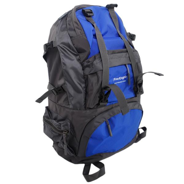 Free Knight 50L FK0218 Outdoor Waterproof Nylon Hiking Camping Backpack Blue