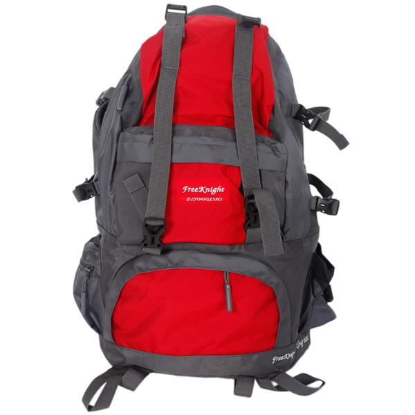Free Knight FK0218 50L Outdoor Waterproof Nylon Hiking Camping Backpack Red