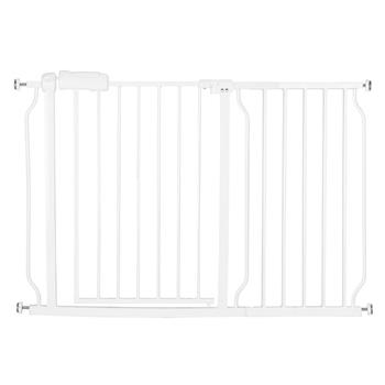 "A Style White Child Safety Gate (43.75 x 47.6 x 31.5)""with 36CM Extension"