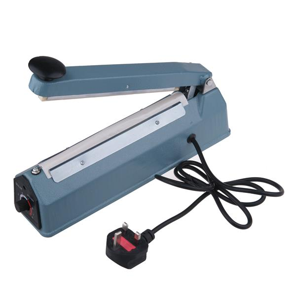 "16"" Metal Impulse Bag Sealer Machine Bag Heat Sealing Closer Kit Tool 600W"