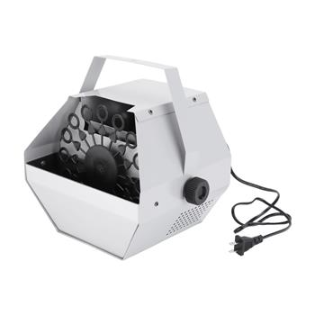 [US-W]30W Automatic Mini Bubble Maker Machine Auto Blower For Wedding/Bar/Party/ Stage Show Silver