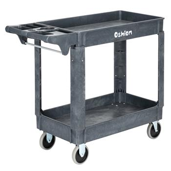Oshion SC252-S2 Small Two-Layer Plastic Trolley