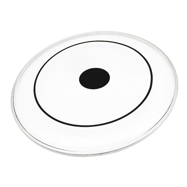 """[US-W]Drum Heads with Dot (22"""", 16"""", 14"""", 13"""", 12"""") Transparent"""