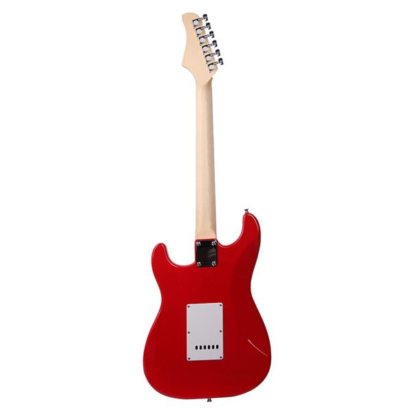 Rosewood Fingerboard Electric Guitar with Shoulder Strap / Guitar Bag / Picks / Cord / Hex Wrench Re
