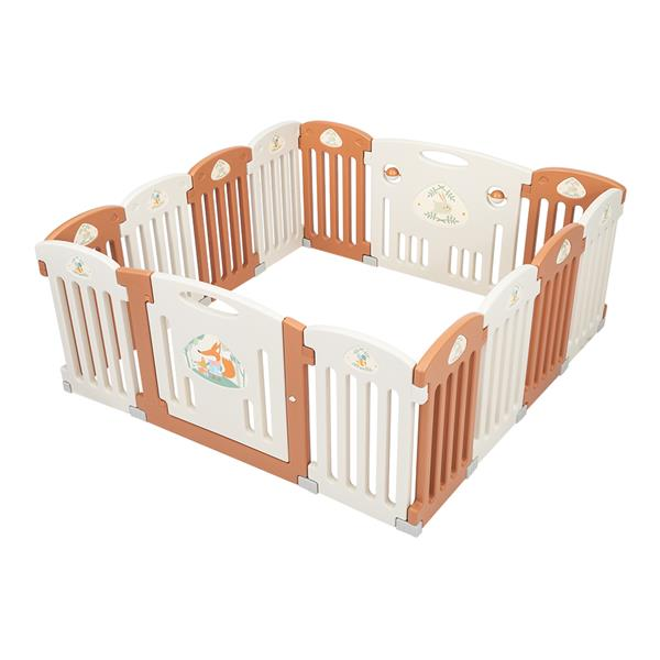 Sukko 14 Panel Baby Playpen Safety Play Yard Home Indoor Outdoor