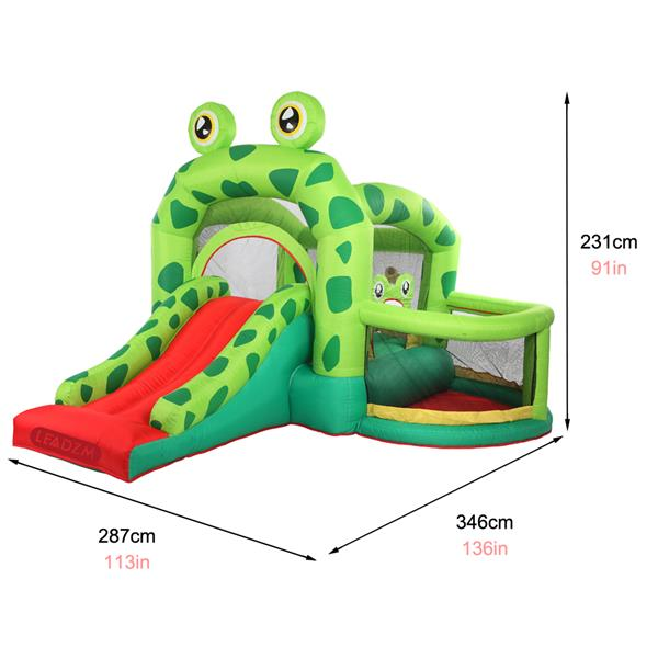 Leadzm Bh-060 Frog Inflatable Castle 420d Oxford 840d Face