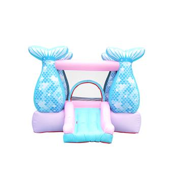 LEADZM BH-110 Mermaid Inflatable Castle 420D Oxford 840D
