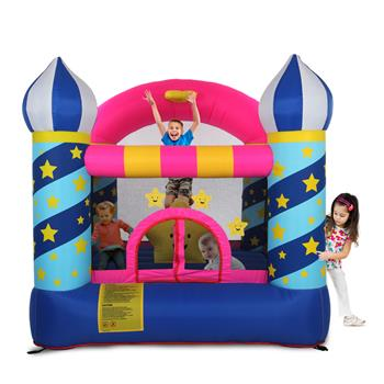 LEADZM BH-085 Stars Inflatable Castle 420D Oxford Cloth 840D Face