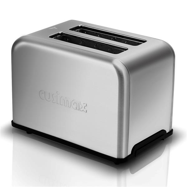 Cusimax CMST-80S Bakery Toaster 2/4 Slice Extra Wide Slot Toaster Stainless Steel Bagel Bread Toaster(cannot be sold on Amazon)
