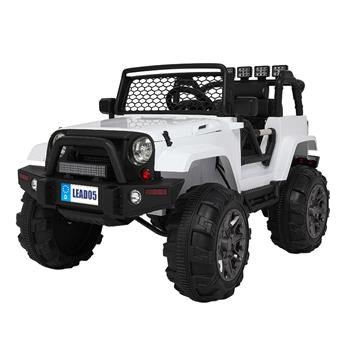 LEADZM LZ-905 Remodeled Jeep Dual Drive 45W * 2 Battery 12V7AH * 1 with 2.4G Remote Control White