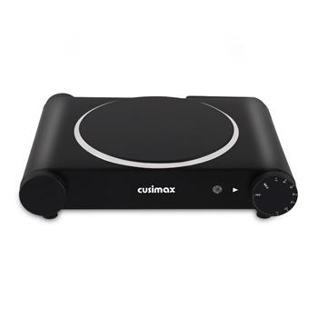Cusimax CMIP-B120 Ceramic Hot Plate Portable Electric Cooktop Burner Single/Dual Infrared Electric Burner(Cannot be sold on Amazon)