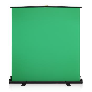 [US-W]Kshioe GS80 Large Portable Folding Telescopic Pull Green Background Screen