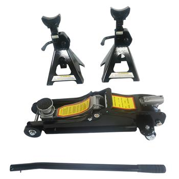 2-1/4 Ton Hydraulic Floor Jack Black