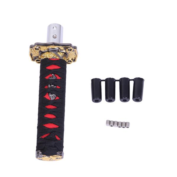 12mm Car Shift Gear Knob Black and Red