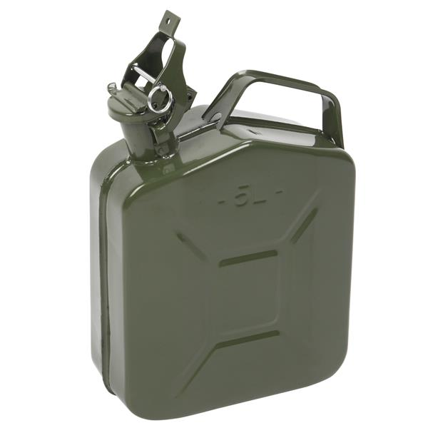 5L 0.6mm American Oil Barrel Army Green With Inverted Oil Pipe