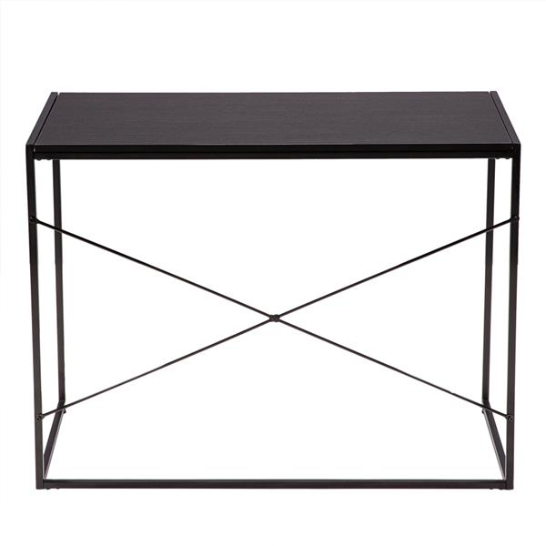 (100 x 50 x 75cm) Simple Crossing Student Table Balck