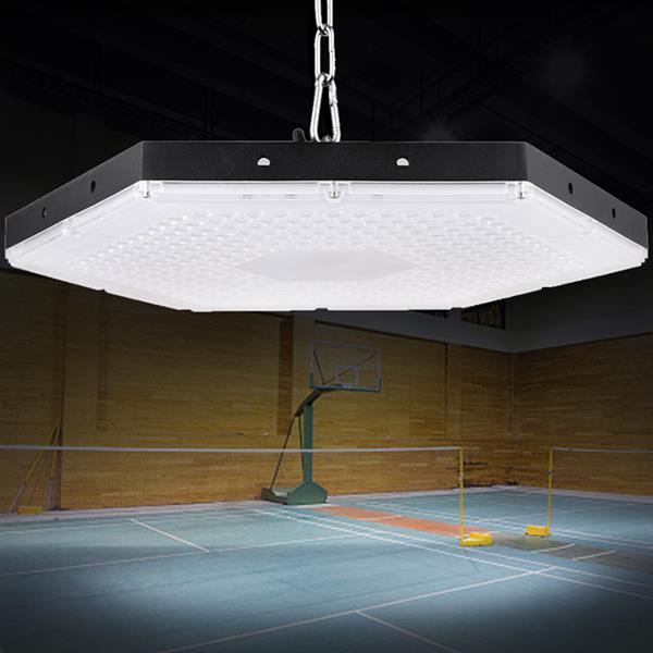 300W LED High Low Bay Light Hanging Chain Factory Warehouse Workshop Lighting