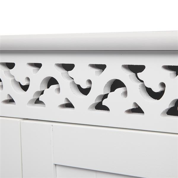 FCH Carved Double Door Wall Cabinet