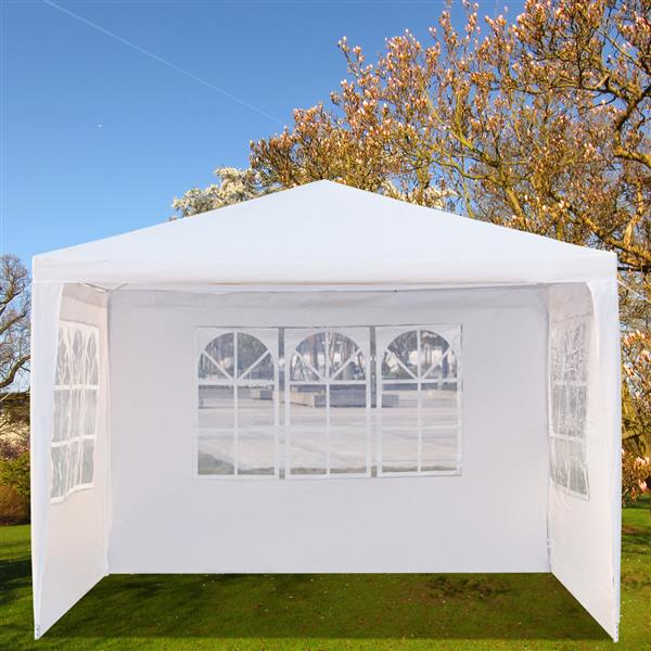10'x10' Patio Party Tent Wedding Canopy Heavy Outdoor Upgrade Section