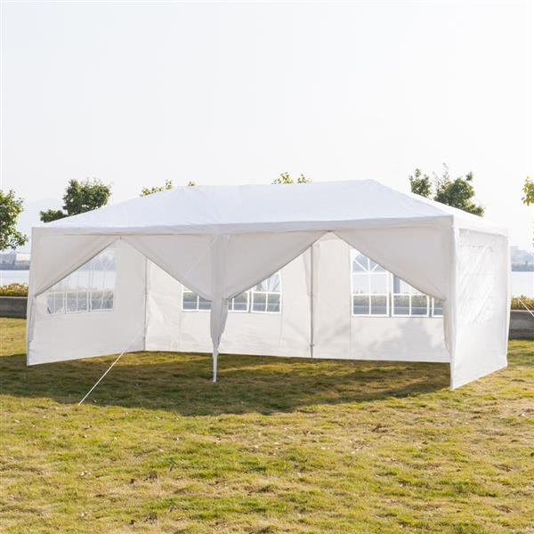 10'x20' Patio Party Tent Wedding Canopy Heavy Outdoor Upgrade Section