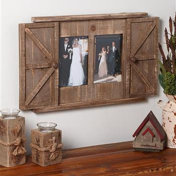 (旧编码:60397866)Wood Barn Door Picture Frame (MR 661A1YM)