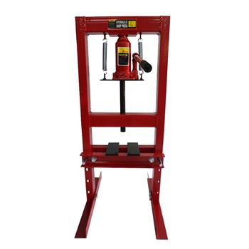 6 Ton Hydraulic Shop Press Floor Press Red