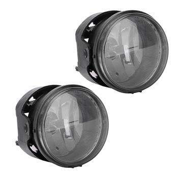 Smoke Bumper Fog Lights for 2006-2009 Dodge Charger Caravan Caliber with Switch & Bulbs