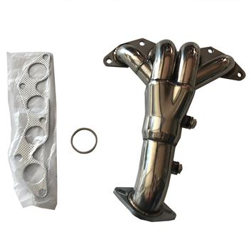 """Exhaust Manifold 1.5"""" / 2"""" Header for 01-05 Honda Civic DX/LX 4CYL AGS0097"""