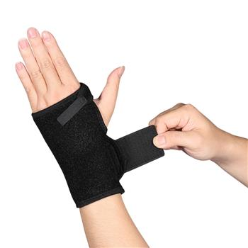 Wrist Brace Splint Support Left Right Hand Carpal Syndrome Support Recovery BLK